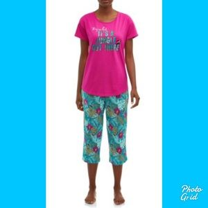 NWT Secret treasures pajamas  a jungle out there